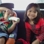 traveling by car with kids