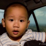 Travel in a car with your children