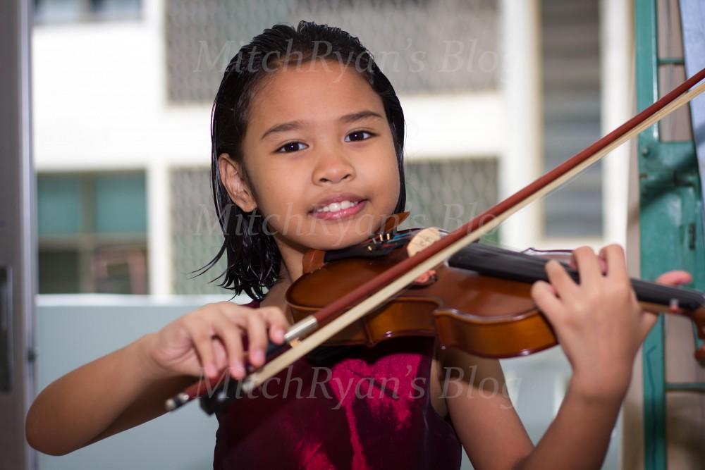 Summer on Violin