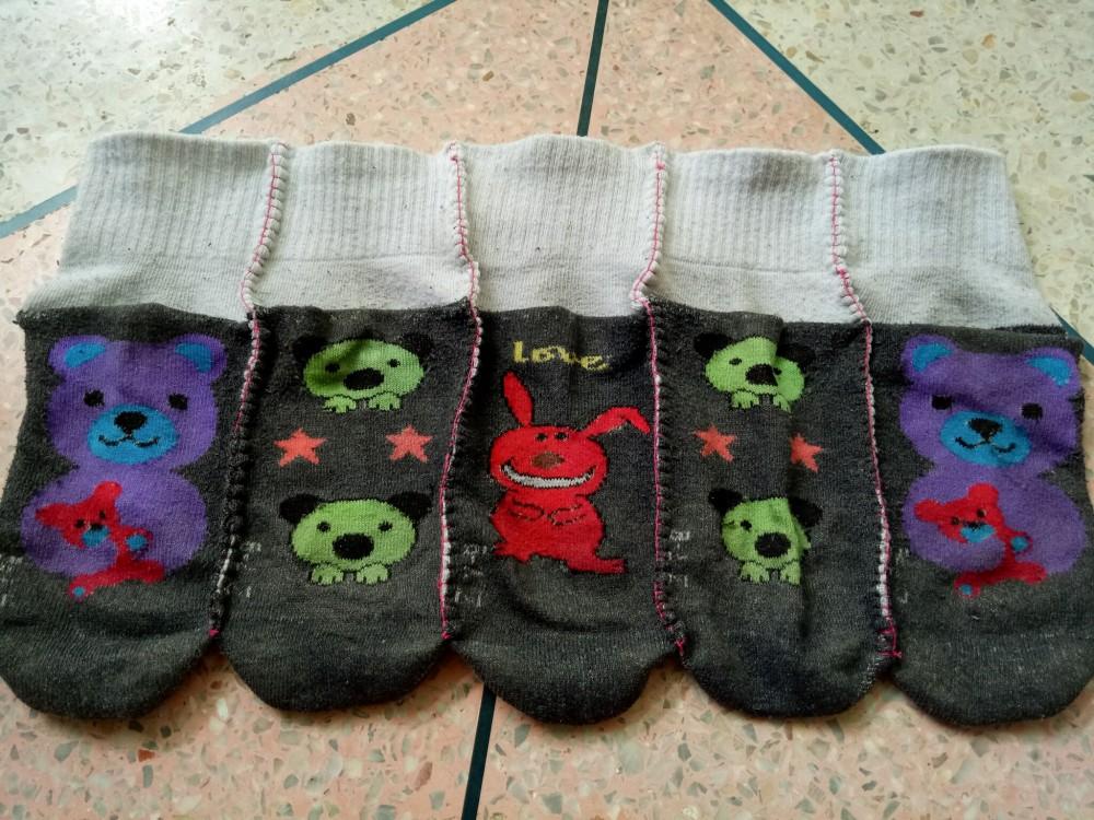 school socks rag rug