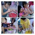 playdough making