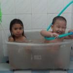Make Shift Bath Tub