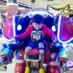 $2 worth of fun:robot rides