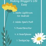 List  of  budget mom bloggers must haves