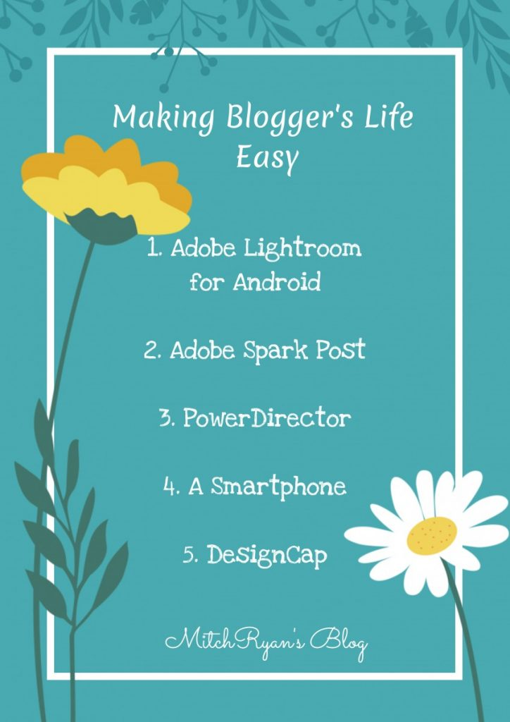 list of must have for bloggers