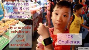 kid drinking smoothie- Budget Travel to Thailand: Where to Eat