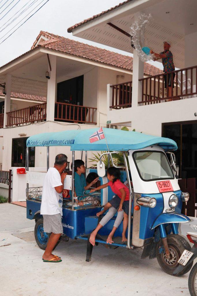 songkran at aonang regent hotel