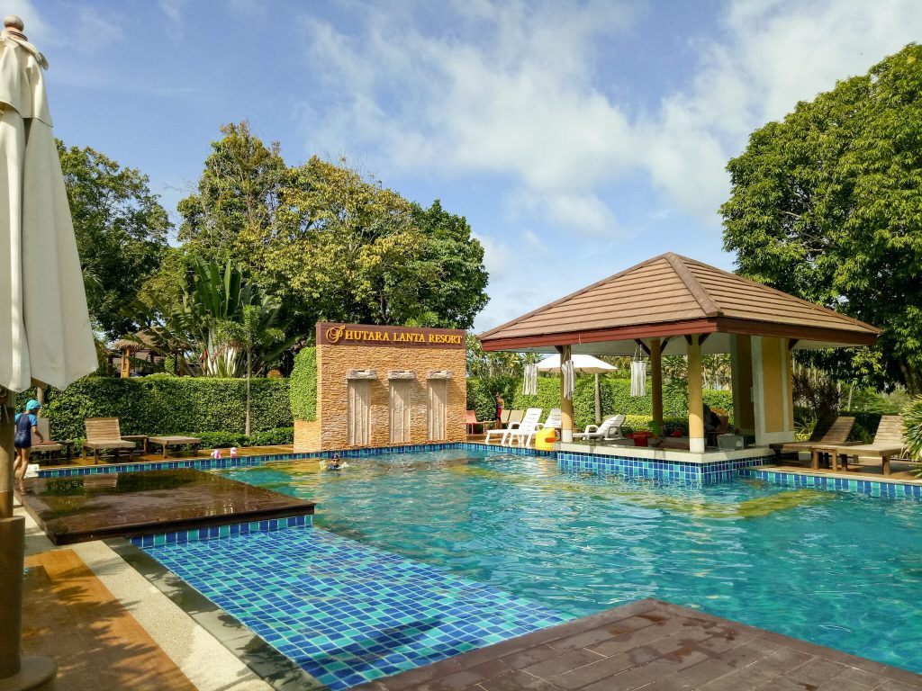 swimming pool at Phutara lanta resort